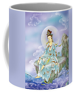 Many Treasures Avalokitesvara  Coffee Mug by Lanjee Chee