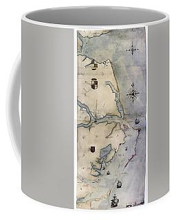 Map John White, C1585 Coffee Mug