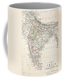 Map Of India Coffee Mug