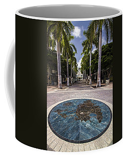 Map Of St. Maarten In The Boardwalk Coffee Mug