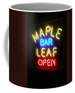 Maple Leaf Bar Coffee Mug