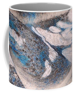 Coffee Mug featuring the painting Marble 7 by Mike Breau