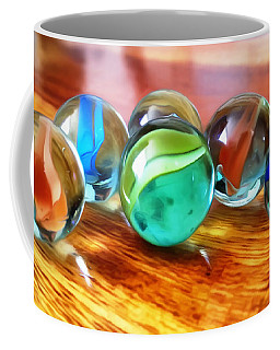 Coffee Mug featuring the photograph Marble Ducks by Isabella F Abbie Shores FRSA