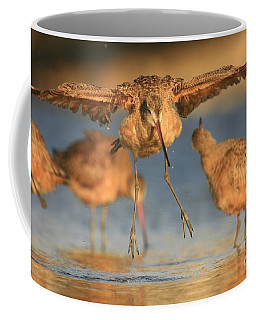 Coffee Mug featuring the photograph Marbled Godwit  by John F Tsumas