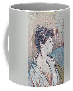 Marcelle, 1894 Pastel On Paper Coffee Mug