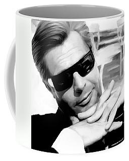 Marcello Mastroianni Portrait Coffee Mug