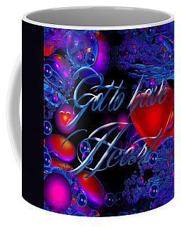 Solar Heart  Coffee Mug