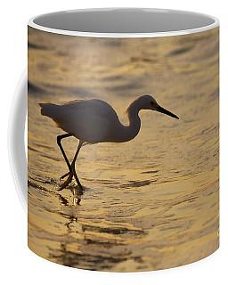 March Of The Egret Coffee Mug