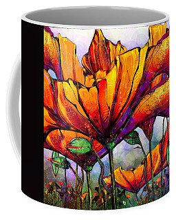 March Of The Poppies Coffee Mug