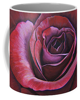 Coffee Mug featuring the painting March Rose by Thu Nguyen
