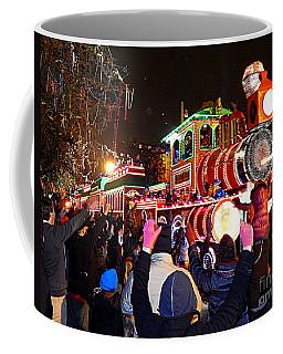 New Orleans Mardi Gras 2014 Orpheus Super Float Smokey Mary Coffee Mug