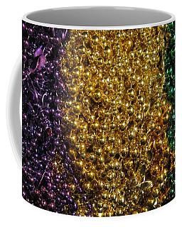 Mardi Gras Beads - New Orleans La Coffee Mug by Deborah Lacoste