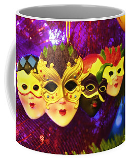 Mardi Gras Christmas Coffee Mug