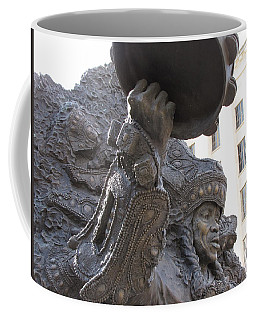 Coffee Mug featuring the photograph Mardi Gras Indian by Beth Vincent