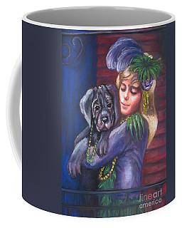 Mardi Gras Puppy Coffee Mug