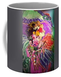 Mardi Gras Queen Coffee Mug