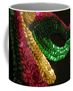 Coffee Mug featuring the photograph Mardi Gras Time by Beth Vincent