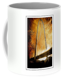 Margaret Hunt Hill Bridge Dallas Texas Coffee Mug