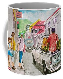 Marigot St. Martin Coffee Mug by Frank Hunter