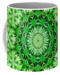 Marijuana Kaleidoscope Poster Coffee Mug