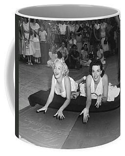 Marilyn Monroe And Jane Russell Coffee Mug