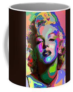 Marilyn Monroe - Abstract 1 Coffee Mug