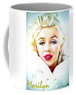 Marilyn Monroe Coffee Mug by Barbara Chichester