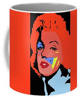 Marilyn Monroe In Color Coffee Mug by Robert Margetts