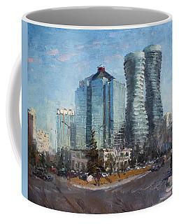 Marilyn Monroe Towers Coffee Mug
