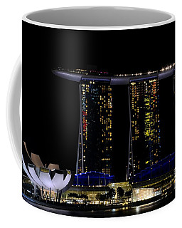 Marina Bay Sands Integrated Resort Hotel And Casino And Artscience Museum Singapore Marina Bay Coffee Mug