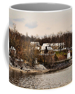Lighthouse Landing Marina Inlet - Kentucky Lake Coffee Mug by Greg Jackson