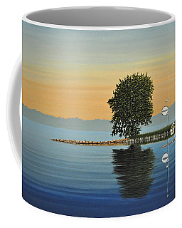 Marina Morning Coffee Mug by Kenneth M  Kirsch