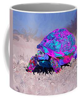 Marine Corporal's Turtle In Peace Paint V2 Coffee Mug