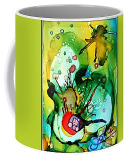 Marine Habitats Coffee Mug by Jolanta Anna Karolska