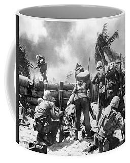 Marines Fight At Tarawa Coffee Mug