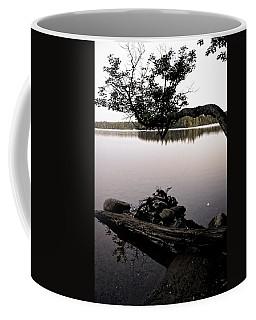 Marion Lake And The Moon Coffee Mug