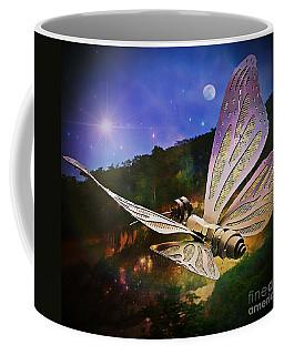 Mariposa Galactica Coffee Mug by Lilliana Mendez