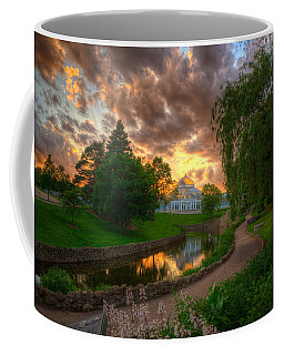 Marjorie Mcneely Conservatory Reflections Coffee Mug
