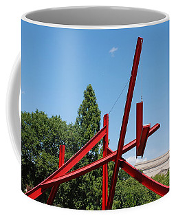 Mark Di Suvero Steel Beam Sculpture Coffee Mug