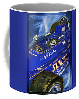 Mark Donohue 1972 Indy 500 Winning Car Coffee Mug