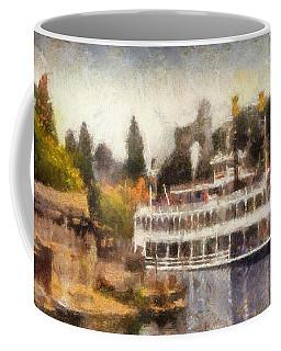 Mark Twain Riverboat Frontierland Disneyland Photo Art 02 Coffee Mug