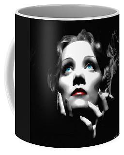 Marlene Dietrich Portrait Coffee Mug
