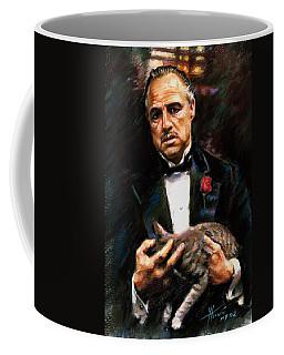 Marlon Brando The Godfather Coffee Mug