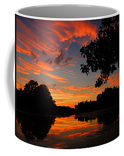 Marlu Lake At Sunset Coffee Mug