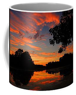Marlu Lake At Sunset Coffee Mug