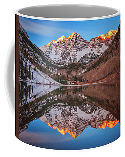 Maroon Bells Alpenglow Coffee Mug