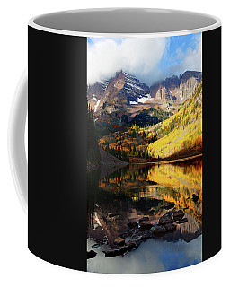 Maroon Bells Autumn Coffee Mug