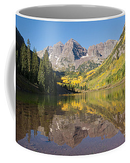 Maroon Bells In Autumn Coffee Mug