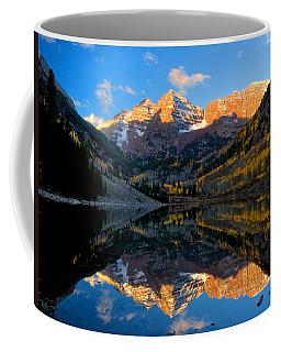 Maroon Bells Landscape Coffee Mug by Ronda Kimbrow