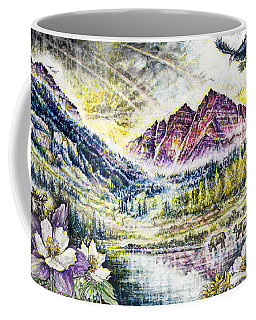 Maroon Bells  Coffee Mug by Scott and Dixie Wiley